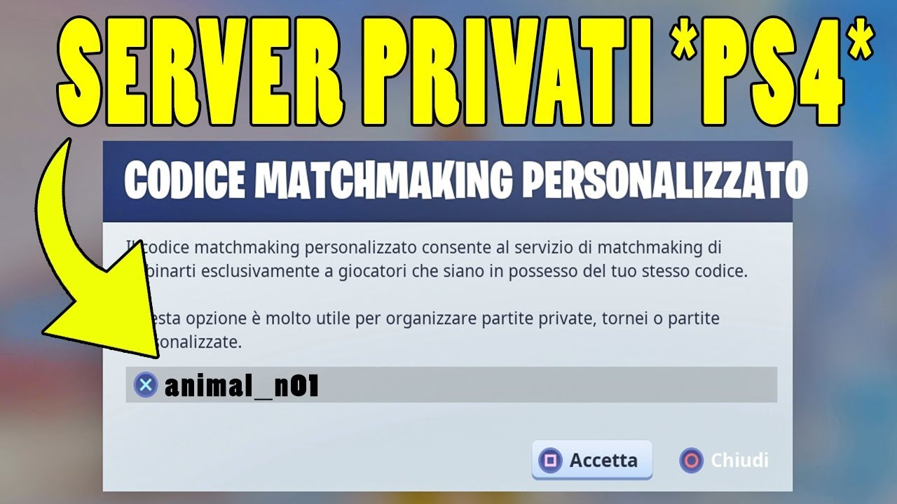 server di matchmaking Minecraft