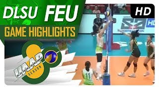 UAAP 80 WV: DLSU vs. FEU | Game Highlights | March 18, 2018