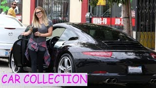 Hilary duff  car collection (2018)