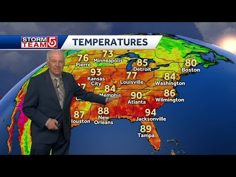 Video: Temperature, Humidity Will Climb Throughout Week
