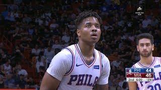 Markelle Fultz Awkward Free-Throw | Sixers vs Heat | November 12, 2018 | 2018-19 NBA Season