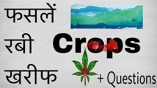 CROPS || भारत की कृषि