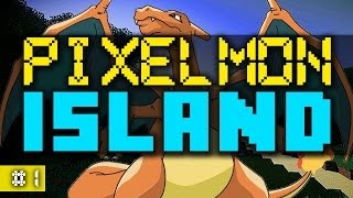 Minecraft PIXELMON ISLAND #1 (Pixelmon Island Season 2) with Vikkstar & Ali A