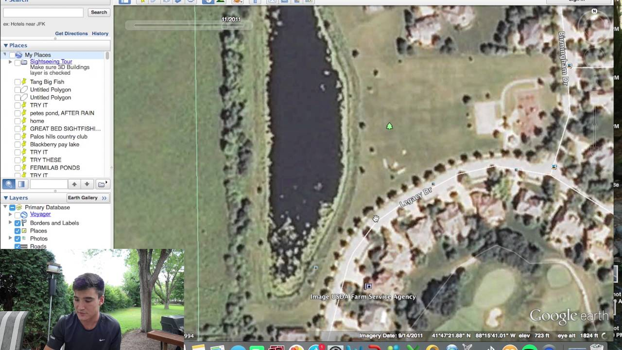 Finding the best fishing ponds google earth tricks youtube gumiabroncs Gallery
