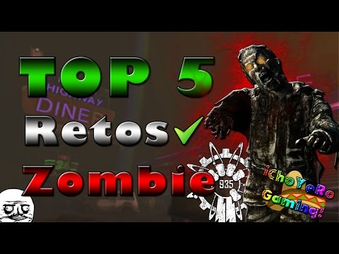 TOP: 5 Mejores retos (Challenges) de Call of Duty Zombies | ChoyeroGaming