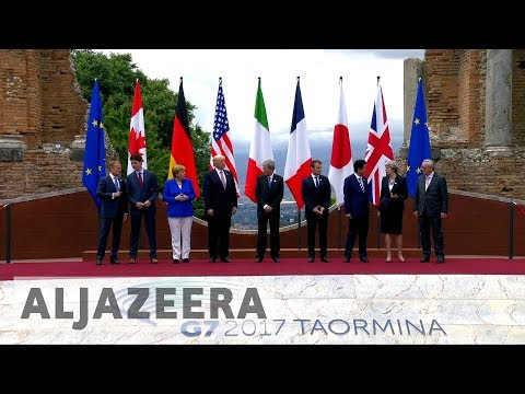 G7:  A brief look at the Taormina summit