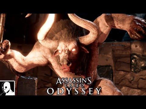 Assassins Creed Odyssey Minotaurus