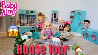 BABY ALIVE House Tour Giant Doll House baby alive videos