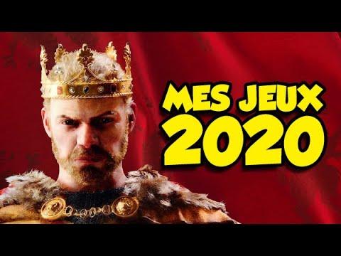 Mes jeux de 2020