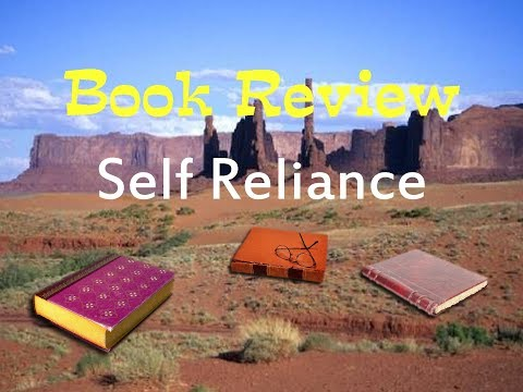 """Book Review of """"Self Reliance"""" by Ralph Waldo Emerson"""