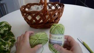 Вязальный проект: Туника крючком из пряжи Yarn Art begonia.