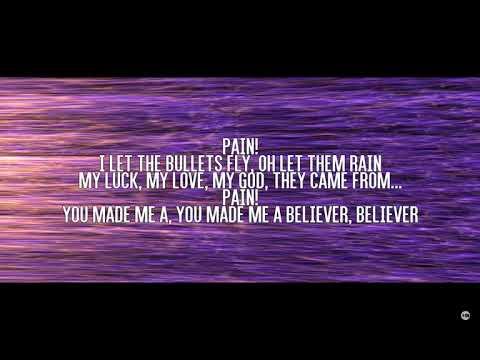 Learning the lyrics to Believers - Imagine Dragon (Credit to DIARTOB)