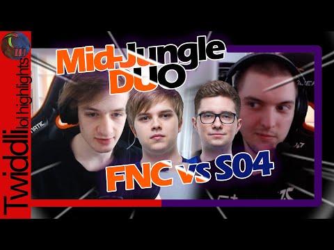 Nemesis, Selfmade VS Abbedagge, Lurox | FNC Vs S04 Mid-Jungle Duo