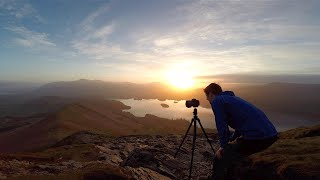 Landscape Photography on Location: Full shoot; Planning, Processing & Print. Sunrise, Derwent Water.