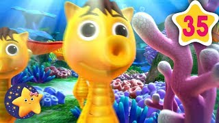 How To Count 10 Little Sea Horses | Fun Learning with LittleBabyBum | NurseryRhymes for Kids