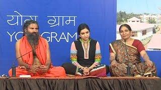 Shanti (Gujarat) got relief from Brain Hemorrhage (ब्रेन हेमरेज) through Yoga