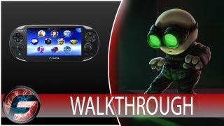 Stealth Inc.: A Clone in the Dark Walkthrough Part 2 (PS VITA)