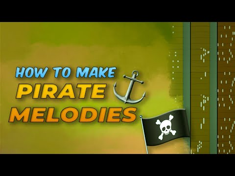 HOW TO MAKE PIRATE / SEA SHANTY MELODIES   Making an INSANE Orchestral Pirate Beat in FL Studio 2020