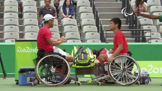 Wheelchair Tennis | Japan v Japan Men's Doubles Bronze Medal Match | Rio 2016 Paralympic Games