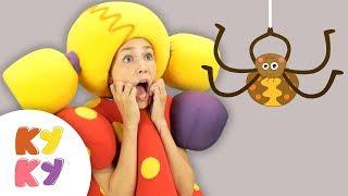 БУКАШКИ - Кукутики - Не бойтесь насекомые очень добрые - Песня мультфильм про паука муравья и жука