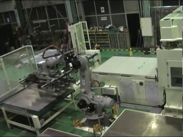 TCOPサーボプレス(ロボット移載)2 油圧裁断機 動画サムネイル