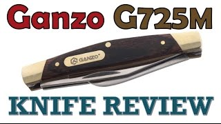 Full Review of the Ganzo G725M Stockman Knife
