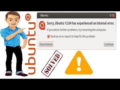 Sorry Ubuntu 16.04 has experienced internal error  solve | Learning Center
