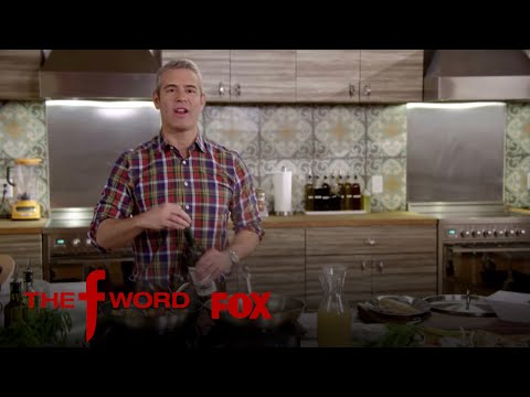 Andy Cohen Cooks By Following Gordon Ramsay's Instructions | Season 1 Ep. 4 | THE F WORD