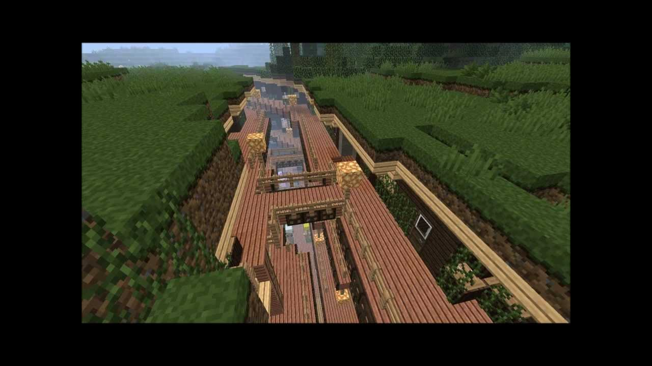 Minecraft Ravine Village Youtube