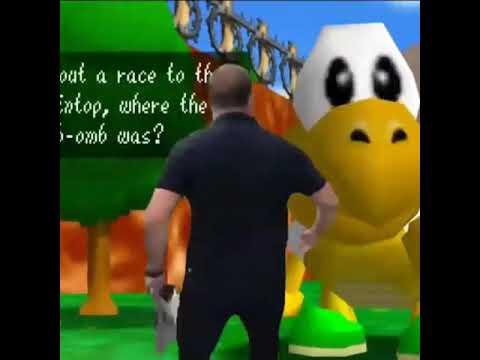 Alex Jones Race A Koopa Troopa- Meme-