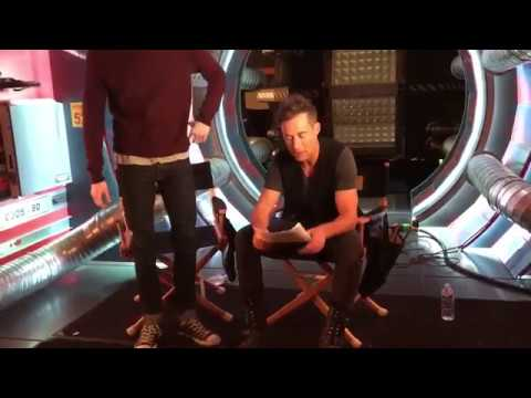 Grant Gustin and Tom Cavanagh Funny On Set The Flash  Tom&Grant Project