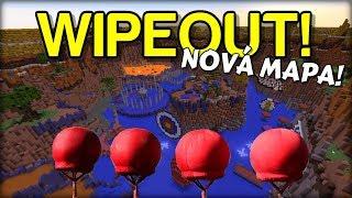 NOVÁ MAPA! - ULTIMÁTNÍ FUNKČNÍ WIPEOUT v Minecraftu !