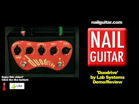 Duodrive - Lab System Guitar Pedal Demo - Test & Review