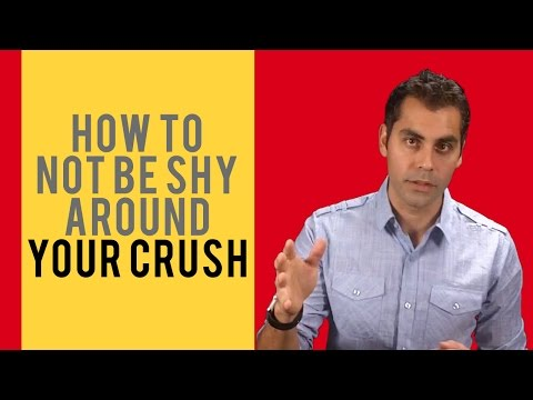 How to get over being shy around your crush