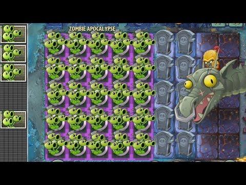 Plants vs Zombies 2 Hack - Tripitidora vs Los Zombots