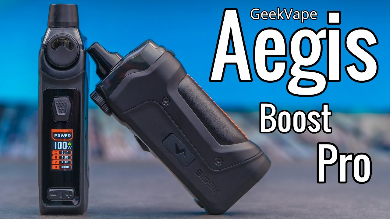 GeekVape Aegis Boost Pro 100W Kit? - Review & Special Opportunity - YouTube