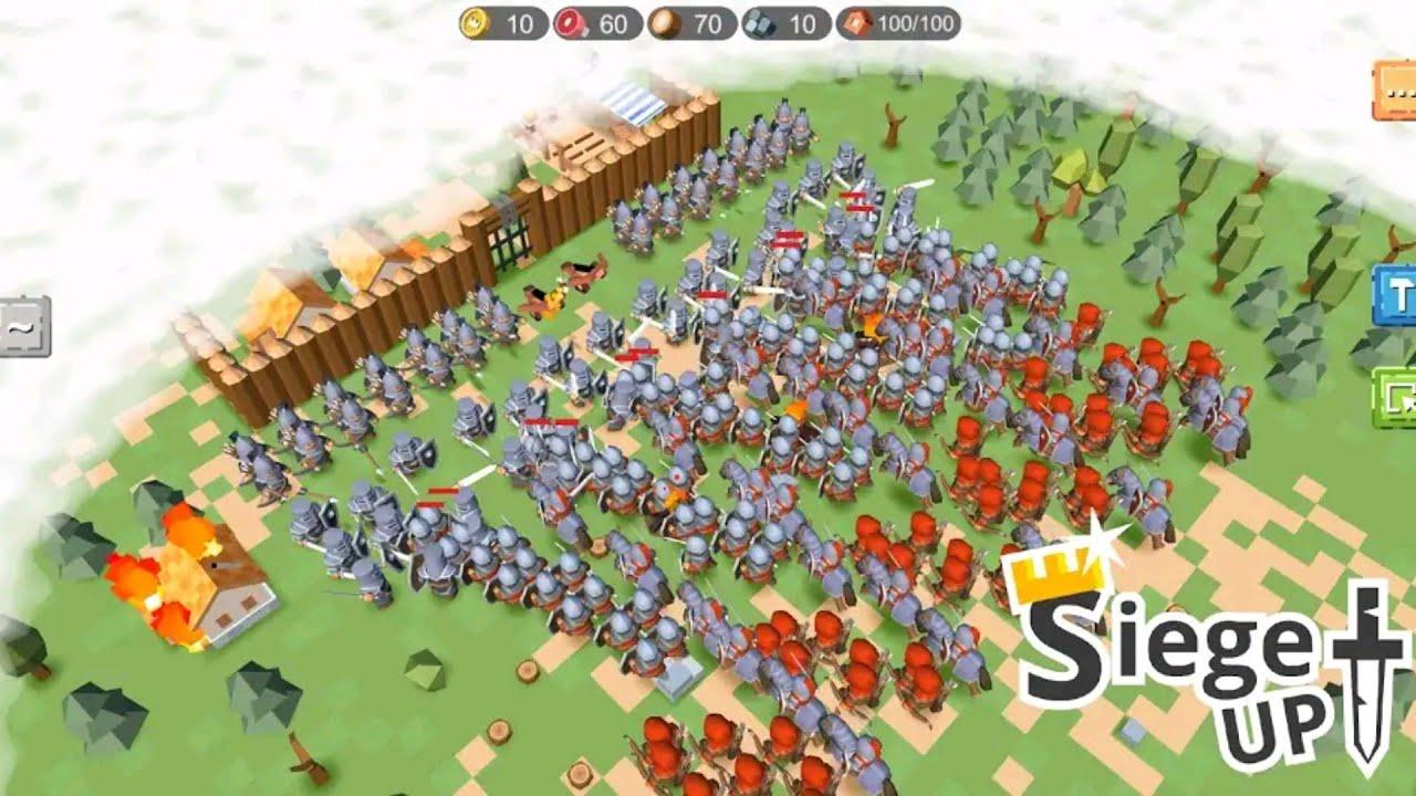 RTS Siege Up! - Medieval Warfare Strategy Offline - Jalan Utara