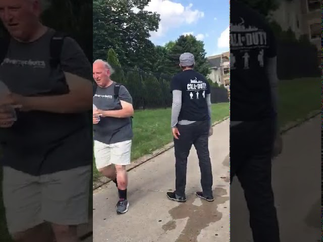 Muslim patrols pass out water on record hot day in Milwaukee