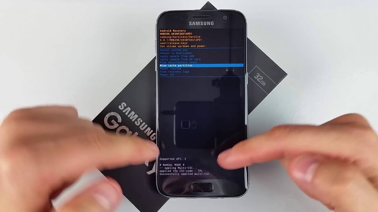 Recovery Manual Mode - Samsung Galaxy S7 and others