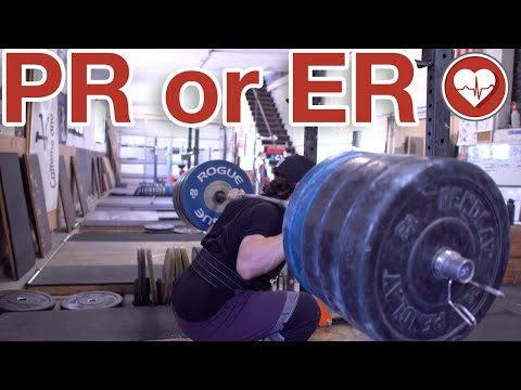 PR or ER - The Road to a 500 lbs Squat - Heavy Doubles