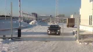 Автоматические ворота. Амитех Красноярск.(, 2013-01-10T19:22:58.000Z)