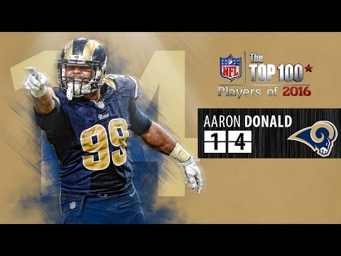 #14: Aaron Donald (DT, Rams) | Top 100 NFL Players of 2016