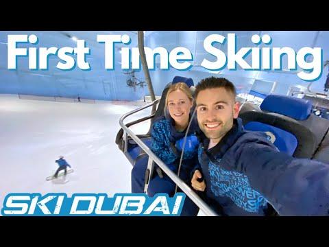 Highest Indoor Ski Slope In The World ❄️/ Ski Dubai Mall Of The Emirates