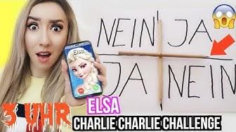 SPIELE um 3 UHR NACHTS niemals CHARLIE CHARLIE mit ELSA aus FROZEN 2