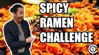 SPICY RAMEN CHALLENGE FT. SUDARSO BROS
