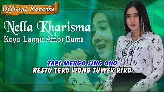 Download Video Karaoke ~ KOYO LANGIT AMBI BUMI _ tanpa vokal   |   Official Karaoke MP3 3GP MP4