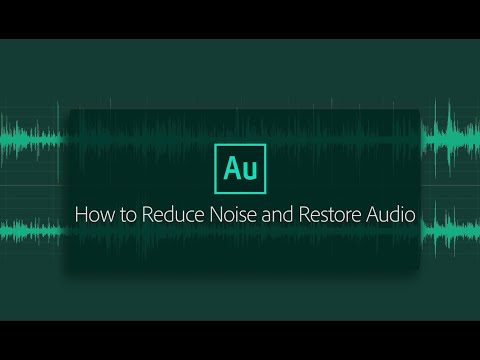 Applying noise reduction techniques and restoration effects
