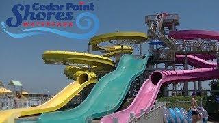 Cedar Point Shores Waterpark Tour & Review with Ranger