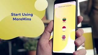MoreMins ऐप के साथ सस्ते अंतरराष्ट्रीय कॉल। विदेश में कॉल कैसे शुरू करें। screenshot 3