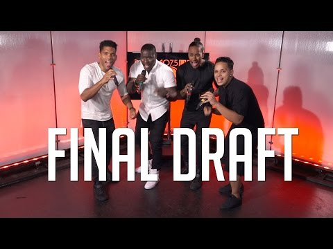 """Final Draft Sings """"Oh Mother of Mine"""" Live +  Singing for Berry Gordy and Quincy Jones"""